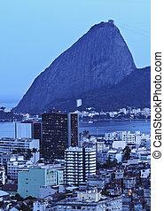 Sugarloaf Mountain in Rio - Brazil, City of Rio de Janeiro,...