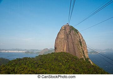 Sugarloaf Mountain, Rio de Janeiro.