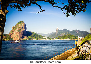 Sugarloaf Mountain - Guanabara Bay with Sugarloaf Mountain...
