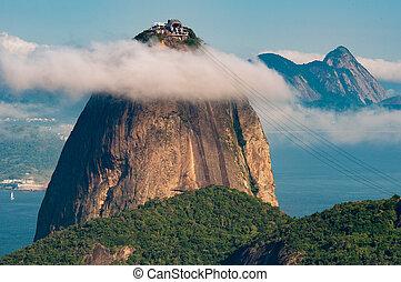 Sugarloaf Mountain Under the Cloud - Sugarloaf Mountain - ...