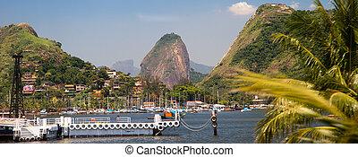 Sugarloaf - View of the sugarloaf in Rio de Janeiro