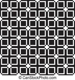 sugestion, 柵欄, seamless, diferences, 元素, 形狀, 加上, t, 背景, 正方形