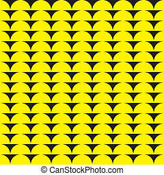 sugestion, arcada, seamless, amarela, experiência preta