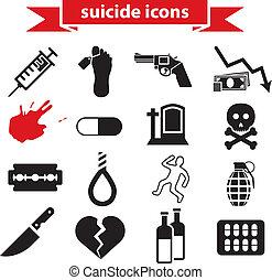 suicide, icônes