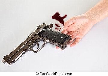 suicidio, arma de fuego