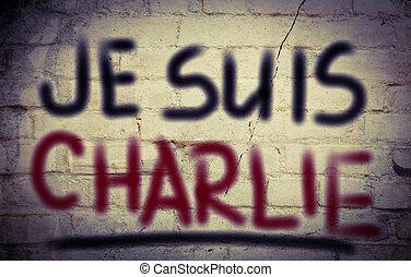 suis, je, 概念, charlie