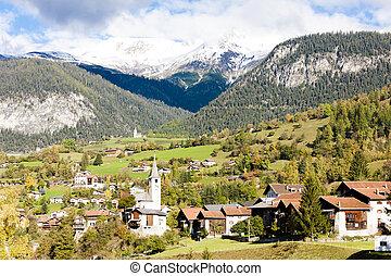 suisse, filisur, graubunden, canton
