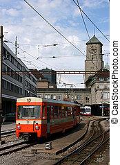suisse, gare