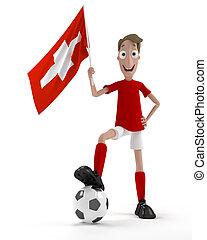 suisse, joueur, football