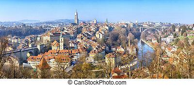 suisse, panorama, berne