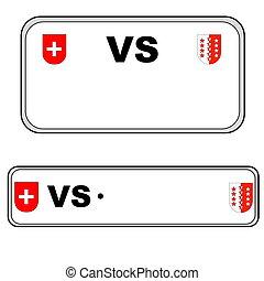 suisse, plaque, nombre, valais