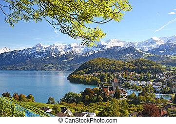 suisse, spiez