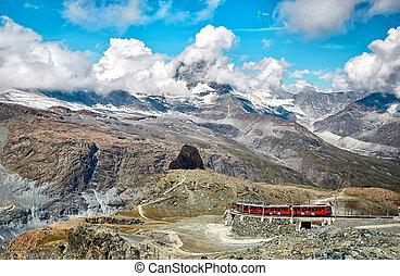 suisse, suisse, zermatt, gornergrat, alpes