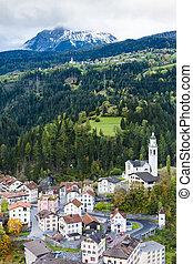 suisse, tiefencastel, graubunden, canton