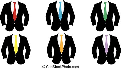 suit icon on white background