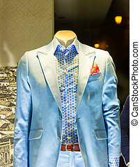 Suit in the shop