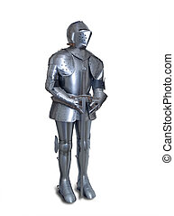 Suit of armor - Suit of Armour isolated with shadow and ...