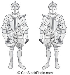 Suit of Armor - An image of a suit of armor.