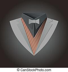 Suit smart casual