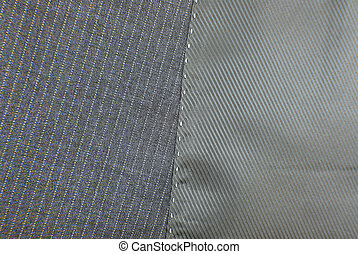 suit texture with seam button and pocket