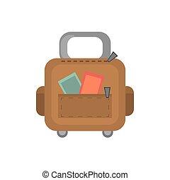 suitcase baggage travel equipment