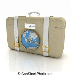 Suitcase for travel