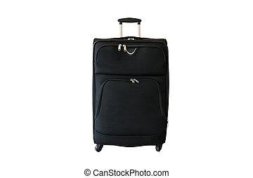 Suitcase isolated on white background.