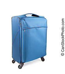 Suitcase on a white background
