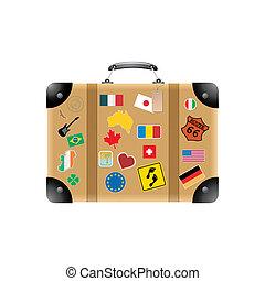Suitcase - Travel suitcase