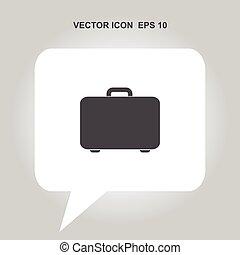 suitcase vector icon