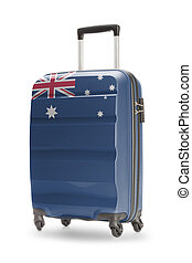 Suitcase with national flag on it - Australia