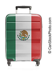 Suitcase with national flag series - Mexico