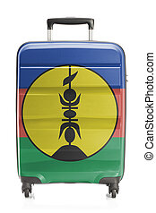 Suitcase with national flag series - New Caledonia