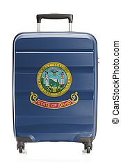 Suitcase with US state flag series - Idaho - Suitcase...