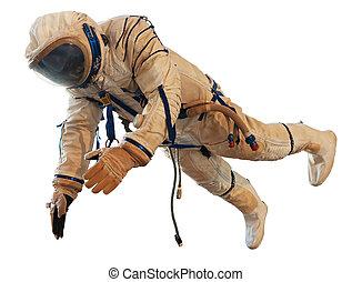 suite, astronaut, raum
