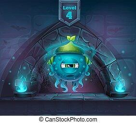 suivant, magie, limace, 4ème, niveau