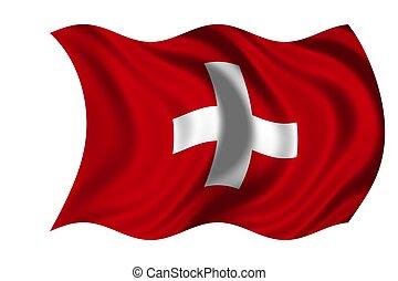 suiza, bandera nacional