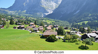 suiza, grindelwald