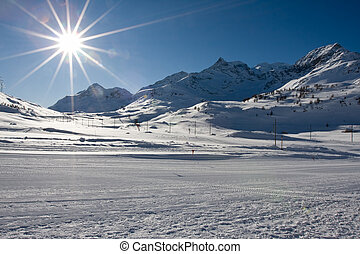 suizo, montañas, alpes