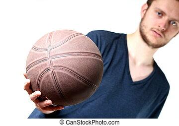 sujeito, basquetebol