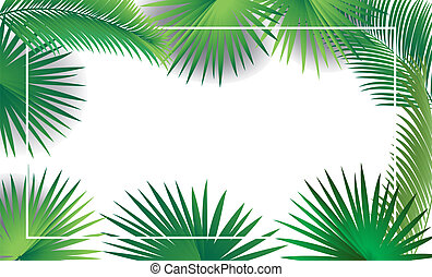 sukkot, liście, drzewo, tropikalny, dłoń, ułożyć