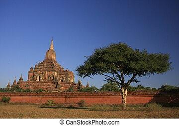 Sulamani temple, Bagan Archaeological Zone, Mandalay region, Myanmar, Southeast Asia