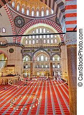 Suleymaniye Mosque in Istanbul Turkey