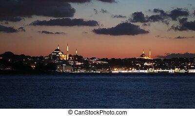 Suleymaniye Mosque in Istanbul City, Turkey