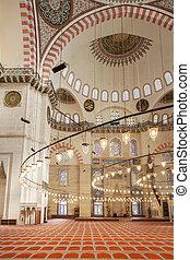 Suleymaniye Mosque Interior