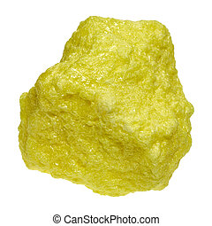 The chemical element sulfur is in the periodic system in the sixth main group and has the period number 16th.