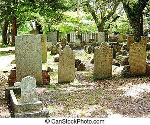 sulista, cemitério