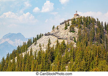 Sulphur Mountain Historic Cosmic Ray Station in Banff National Park