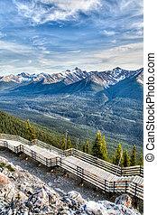 Sulphur Mountain in Banff, Alberta, Canada