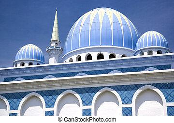 sultán, ahmad, yo, mezquita, malasia